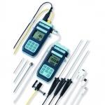 RTD・熱電対温度計<br>シリアル通信、ロガー機能付