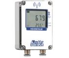 """""""防水タイプ"""" 太陽放射・太陽パネル温度用無線データロガー(屋外) HD35EDW7PRTC"""
