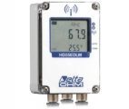 """HD35EDW1N7PRTC """"防水タイプ"""" 温度・湿度・日射・太陽パネル温度用無線データロガー【屋外】"""