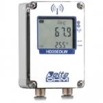 """""""防水タイプ"""" 温度・湿度・葉表面水分用無線データロガー(屋外) HD35EDW1NLTC"""