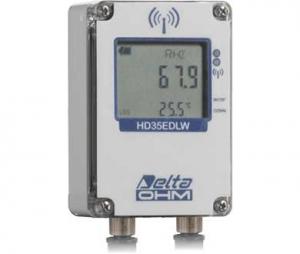 """HD35EDW1NPTC """"防水タイプ"""" 温度・湿度・雨量用データロガー【屋外】"""