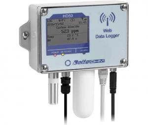 HD501NB…I…TCV/HD5014bNB…I…TCV 温度・湿度・CO₂・照度・(大気圧)WEBデータロガー