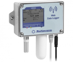 HD501NB…TV 温度・湿度・CO₂・(大気圧)WEBデータロガー