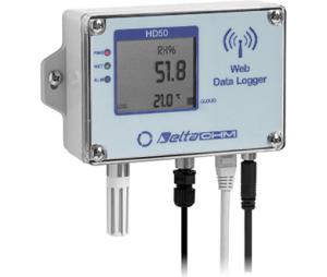 HD501NI…TCV 温度・湿度・照度・(大気圧)WEBデータロガー
