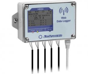 HD50GH 4chアナログ入力WEBデータロガー