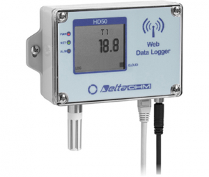 HD50NTV サーミスタ温度WEBデータロガー