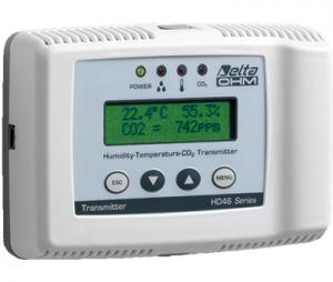 HD46 室内型湿度・温度・CO₂トランスミッタ