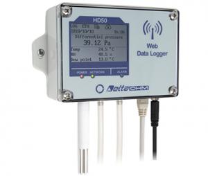HD501N4r1ZTV 温度・湿度・差圧データロガー