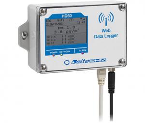 HD50PM PM(微小粒子状物質)温度データロガー