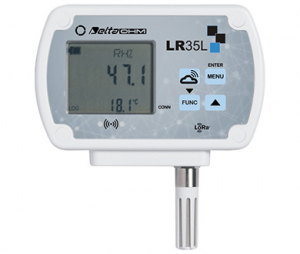 LR351NTV 温度・湿度データロガー【屋内用】プローブ固定